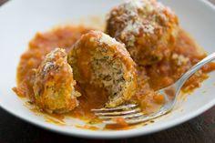 Turkey Meatballs in Homemade Marinara Sauce