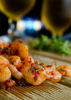 Spicy Shrimp with Tomato Sauce