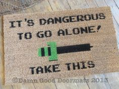 Legend of Zelda Doormat