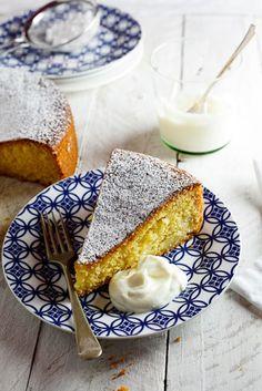 Apple Polenta Cake