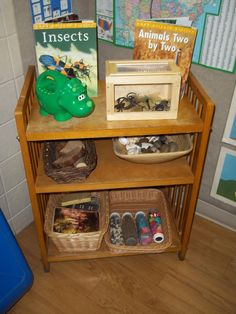 Toddler Science area