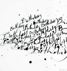 Nicolas Ouchenir, calligraphy, stationery, invitation / Garance Doré