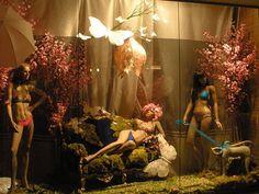 Lingerie Window Display - photo by charlieman75; via The Creativity Window