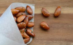 M Loves M: recipe: roasted almonds with rosemary