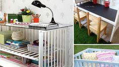 9 Cool Ways to Repurpose an Old Crib - Circle of Moms