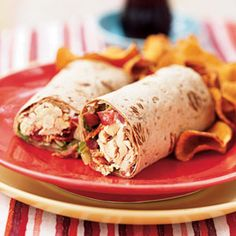 Chicken and Bacon Roll-Ups Recipe - Love this deluxe version of a BLT. A great idea for a quick dinner or for a hearty after school snack. For more creative ideas for kids lunches LIKE US on Facebook @ https://www.facebook.com/SchoolLunchIdeas