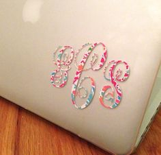 Lilly Pulitzer 3 inch Decal perfect for laptop tablet car window notebook etc on Etsy, $6.99