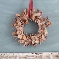 guirnalda1 Especial Navidad: coronas de adviento originales para tu puerta