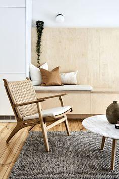 interior. neutrals, wood, plywood