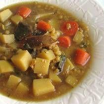 Krupnik - Polish barely soup.