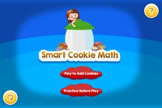 Smart Cookie Math App - Helps students practice math facts!