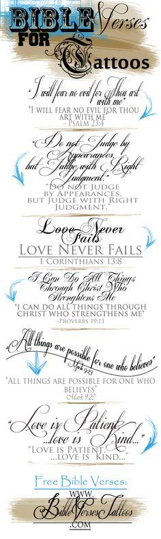 Bible+Verse+Tattoos | Bible Verse Tattoos Page 17 Images
