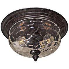 Merrimack Collection 2-Light Flush Mount Ceiling Light