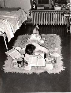 Studying c.1940s