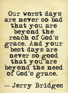 .Jerry Bridges-  God's grace