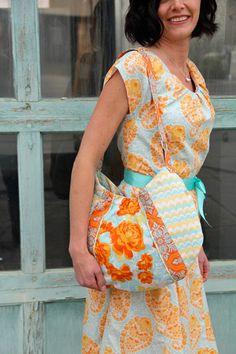 Inflight Hobo Bag Sewing Pattern by Joel Dewberry