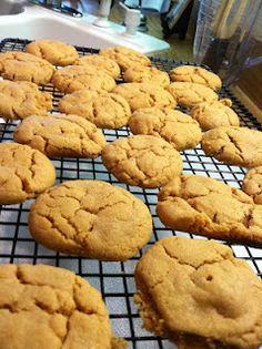 Healthy peanut butter cookies  36 calories each