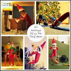 60 great Elf on the Shelf Ideas!!!!! #Smartytheelf2013   www.facebook.com/smartytheelf
