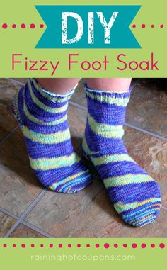 DIY Fizzy Foot Soak