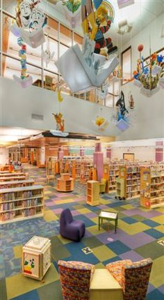 Awesome children's library