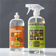 made in St. Louis! | Better Life™ what-EVER!™ Natural All-Purpose Cleaner I Crate and Barrel