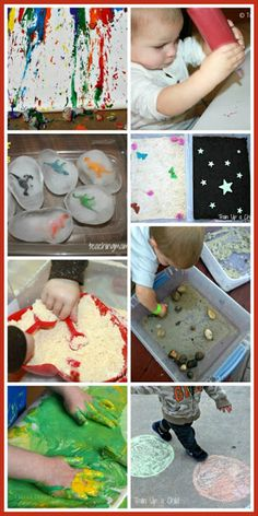 20 Activities for Toddlers - Ways for little ones to create, explore, and PLAY!