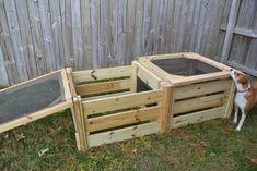 compost bin DIY instructions