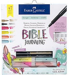 Perfect for Bible journaling. #biblejournaling  #affiliate #artjournaling