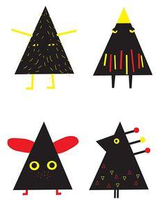 Contemporary Christmas Cards - Helen Gibbins