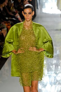 Chado Ralph Rucci S/S '13 - would like the dress in another color without the jacket