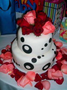 Black Dots - Haute Cakes Austin