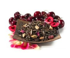 Teavana: Snow Geisha White Tea | Rose Petals, White Tea, Sakura Cherry and Cranberry | $120 per pound (holy cow!!!!!!!!!1)