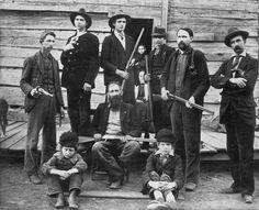 The Hatfields clan in1899  - The Hatfield–McCoy feud (1863–1891)