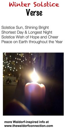 Winter Solstice vers