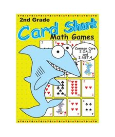 Fun common core math card games for second grade. I wish school could have been like this for me growing up.