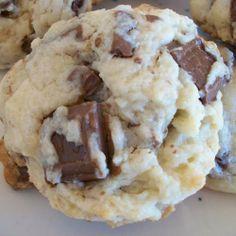 Cream Cheese Hershey Cookies...wow!