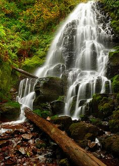 Fairy Falls by Garry Liddell