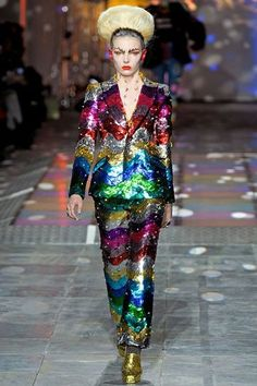 Meadham Kirchhoff AW12, London Fashion Week