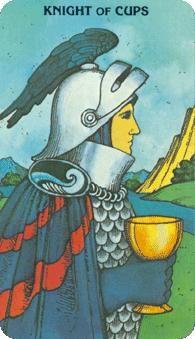 Knight of Cups (Morgan Greer Tarot)