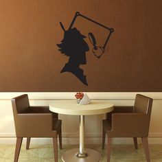 Inspector Gadget  Wall Vinyl  Large by WallsOfText on Etsy, $21.96