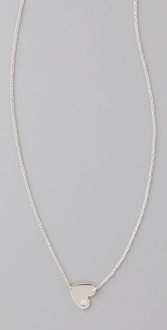 simple and cute.. I want a small diamond necklace that I can wear everyday.