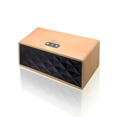 Save $70.00 on Wireless Bluetooth Speaker Wooden Portable Heavy Bass 3.5mm port; only $29.95