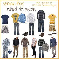What to wear - senior guy