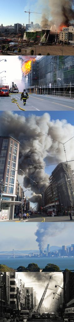 http://www.reddit.com/r/pics/comments/207mfj/firefighter_walking_towards_a_fivealarm_fire_in/ http://www.reddit.com/r/pics/comments/206t48/fivealarm_fire_burning_in_san_francisco_view_from/ http://www.reddit.com/r/pics/comments/207iqx/there_was_a_massive_construction_site_fire_near/ http://www.reddit.com/r/pics/comments/2073ym/massive_fire_in_san_francisco_right_now/ http://www.reddit.com/r/pics/comments/206ugl/so_heres_potentially_the_biggest_fire_burning_in/