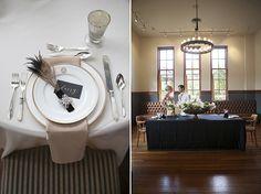 Tischdeko von romantischer Great Gatsby 20er Jahre Vintage Hochzeit Inspiration für die 20er Jahre Vintage Hochzeit