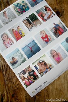 Printing Your Photos As Polaroid Wall Stickers