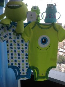 Monsters, Inc. baby clothes, OMG, the cutest stuff!!