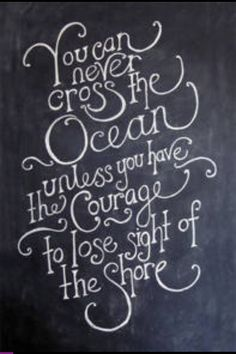 Open Your Eyes.Don't look back! Keep Pushing Forward. The rewards will be awesome. ocean Avenue.