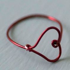 Wire Heart Ring