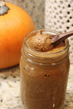 #Pumpkin Spice Almond Butter